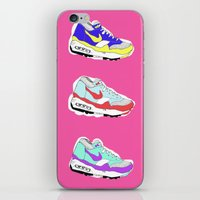 nike iPhone & iPod Skins featuring Nike Air by caseysplace