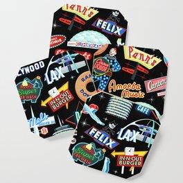Vintage Signs Pattern #2 Coaster