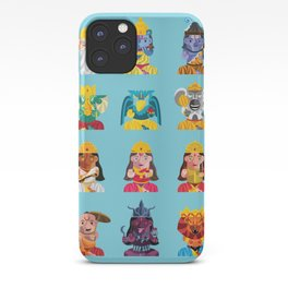 Indian Box Dolls iPhone Case