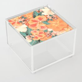 Aloha Orange Sherbet Acrylic Box
