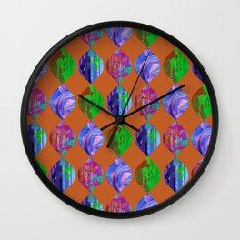 Ovoid Tropic Wall Clock