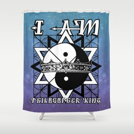 I AM - Philosopher King Shower Curtain