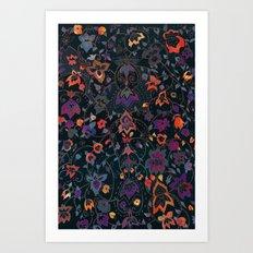 Bali Floral Art Print