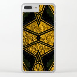 Geometric #715 Clear iPhone Case