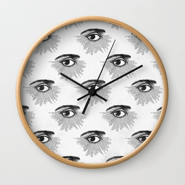 Seeing Stars by Nature Magick Wall Clock