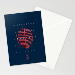 Kendo stylish men! Stationery Cards