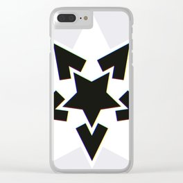 Starry Nightmare? Colourful Edge! Clear iPhone Case