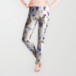 mermaid army Leggings