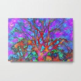 Tree of ghosts Metal Print