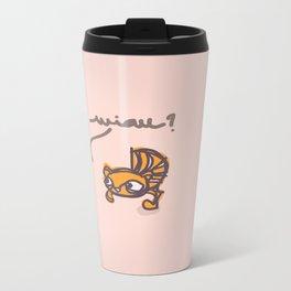 miau? Metal Travel Mug