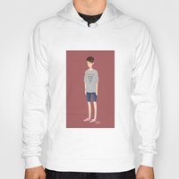 tegan and sara Hoodies featuring Tegan and Sara: Sara #1 by Cas.