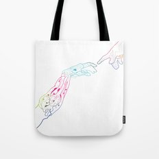 The Next Stage Of Evolution Tote Bag