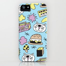 Cat Jams iPhone Case
