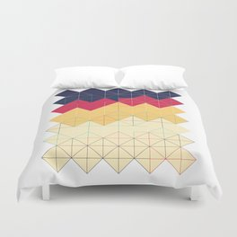 Created with code! - Geometric Art - Digital Download Duvet Cover