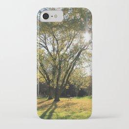 Sunlight Park iPhone Case