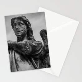 Grave yard angel | Cemetary statue | Cemetary angel | Stone angel | Necromantic Stationery Cards