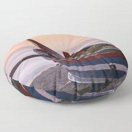 Fishing boat Floor Pillow