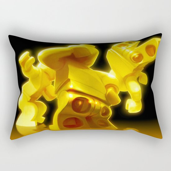 Yellow Butts Rectangular Pillow