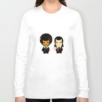 pulp Long Sleeve T-shirts featuring pulp fiction by sEndro