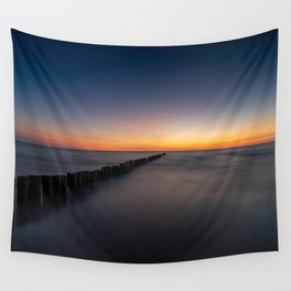 Sunset at Preilos Beach Wall Tapestry