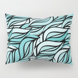 Blue texture Pillow Sham