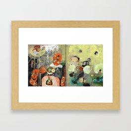 My Friends Framed Art Print