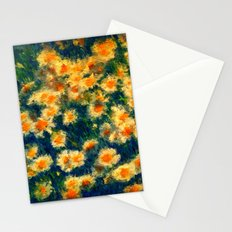 Painted Daisies Stationery Cards