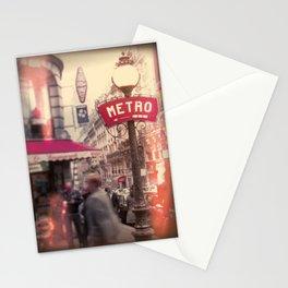 METRO Stationery Cards