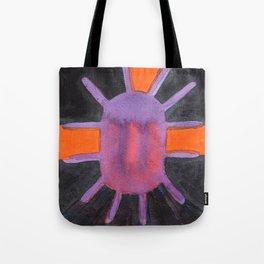 Purple Projector Tote Bag