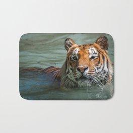 Cincinnati the Tiger in the Pool Bath Mat