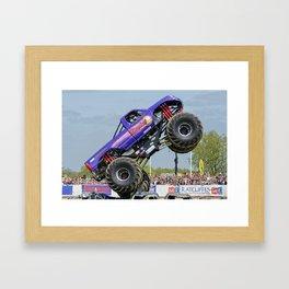 Slingshot Monster Truck 1 Framed Art Print