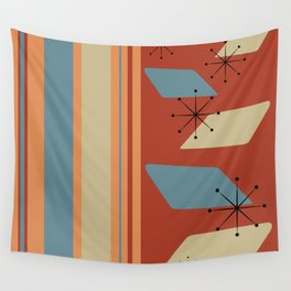 Vintage Retro 01 Wall Tapestry