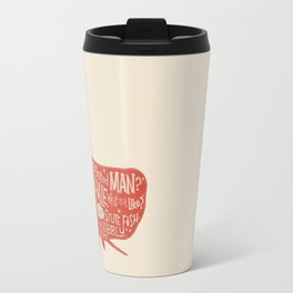 'How the Whale Got His Throat' Travel Mug