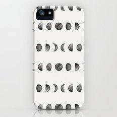 Moon Phases iPhone (5, 5s) Slim Case