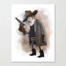 Rooster Cogburn Canvas Print