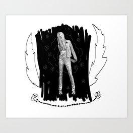 Teenage Witch Art Print