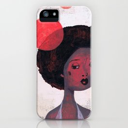 AFRO PSYCHE iPhone Case