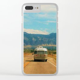 Life on the road Clear iPhone Case