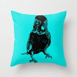 Galileo Silhouette Throw Pillow