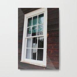 Storefront Window Metal Print