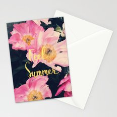 Floral Summer Stationery Cards
