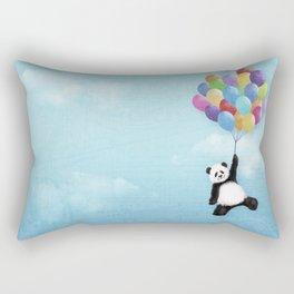 Flying Panda Rectangular Pillow