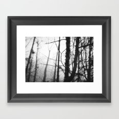 Quiet Rain II Framed Art Print