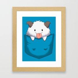Pocket Poro Framed Art Print