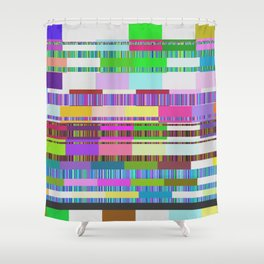 ERROR Shower Curtain