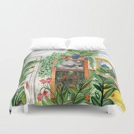 The Jungle Room Duvet Cover