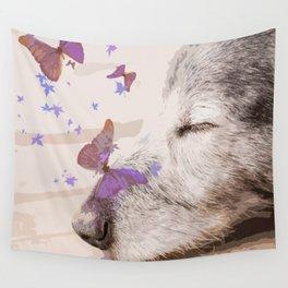 Day Dreaming - Old Dog's Nap - #society6 #buyart Wall Tapestry