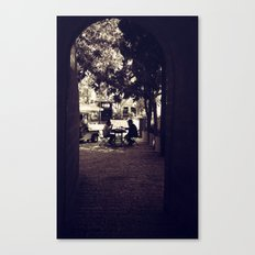 Hassidic Man in Jerusalem Canvas Print