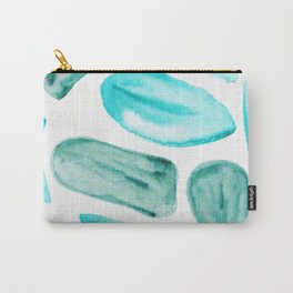 2    | 200131 | Organic Shapes Design | Watercolor Art | Minimalist Art Carry-All Pouch