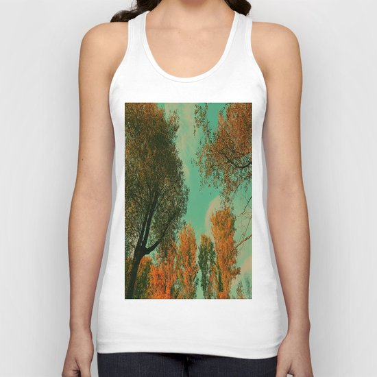 Autumn crowns  Unisex Tank Top